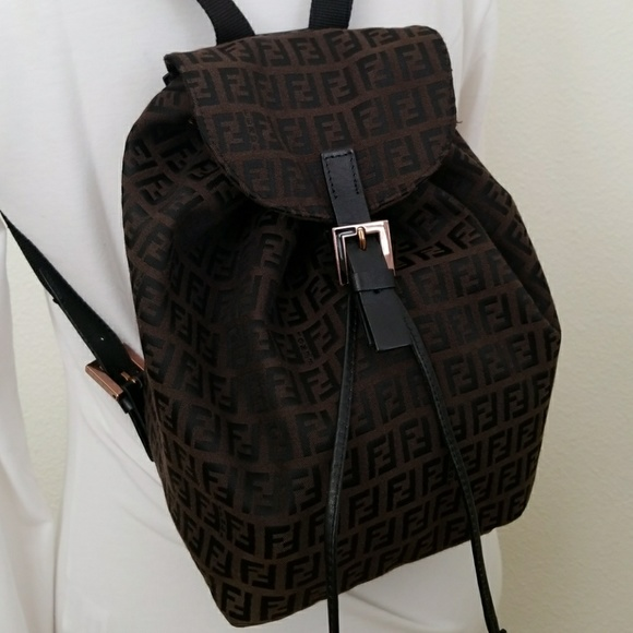 6dde5a71a4 Fendi Handbags - Fendi Zucca Backpack